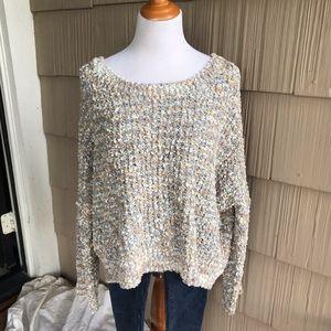 NWT POL confetti knit super soft sweater